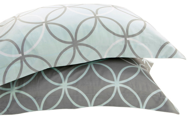 King Pillow Shams with Contemporary Pillow Shams Cotton Pillow Shams Green Pillow Shams1