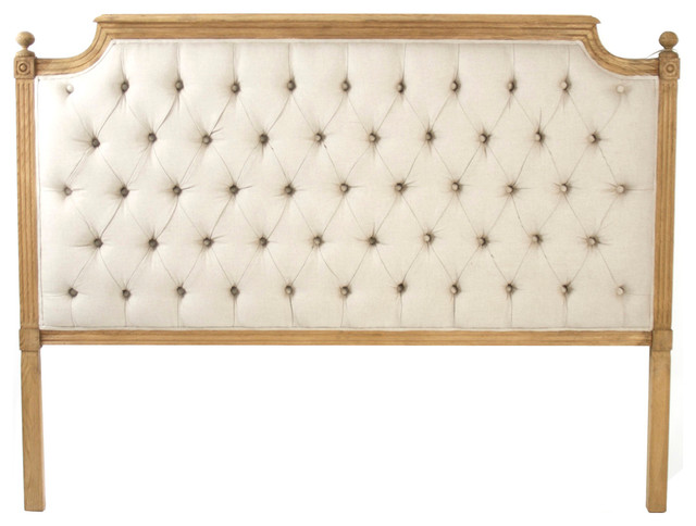 King Tufted Headboard with French Country Headboard Grey Upholstered Headboard Linen Headboard Queen