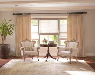 Kirsch Hardware Living Room Traditional with Decorative Drapery Hardware Kirsch Drapery Hardware Wood