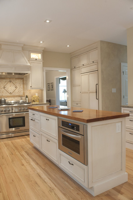 Kitchenaid Architect Series Ii Kitchen Traditional with Cabinet Front Refrigerator Cabinetry Cabinets Ceiling Lighting Dura Dura