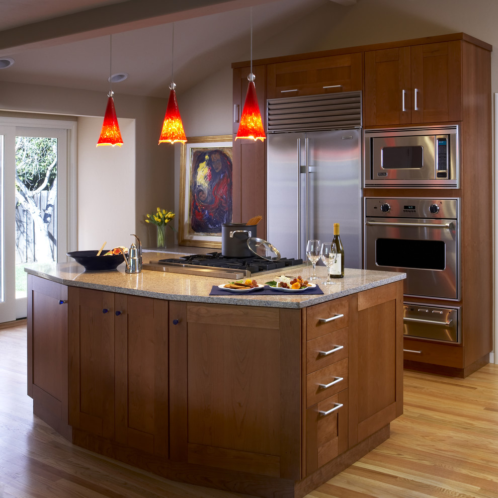 kraftmaid-cabinets-reviews-Kitchen -Contemporary-with-brown-cooktop-cooktop-on-island-countertop-french & kraftmaid-cabinets-reviews-Kitchen-Contemporary-with-brown-cooktop ... kurilladesign.com