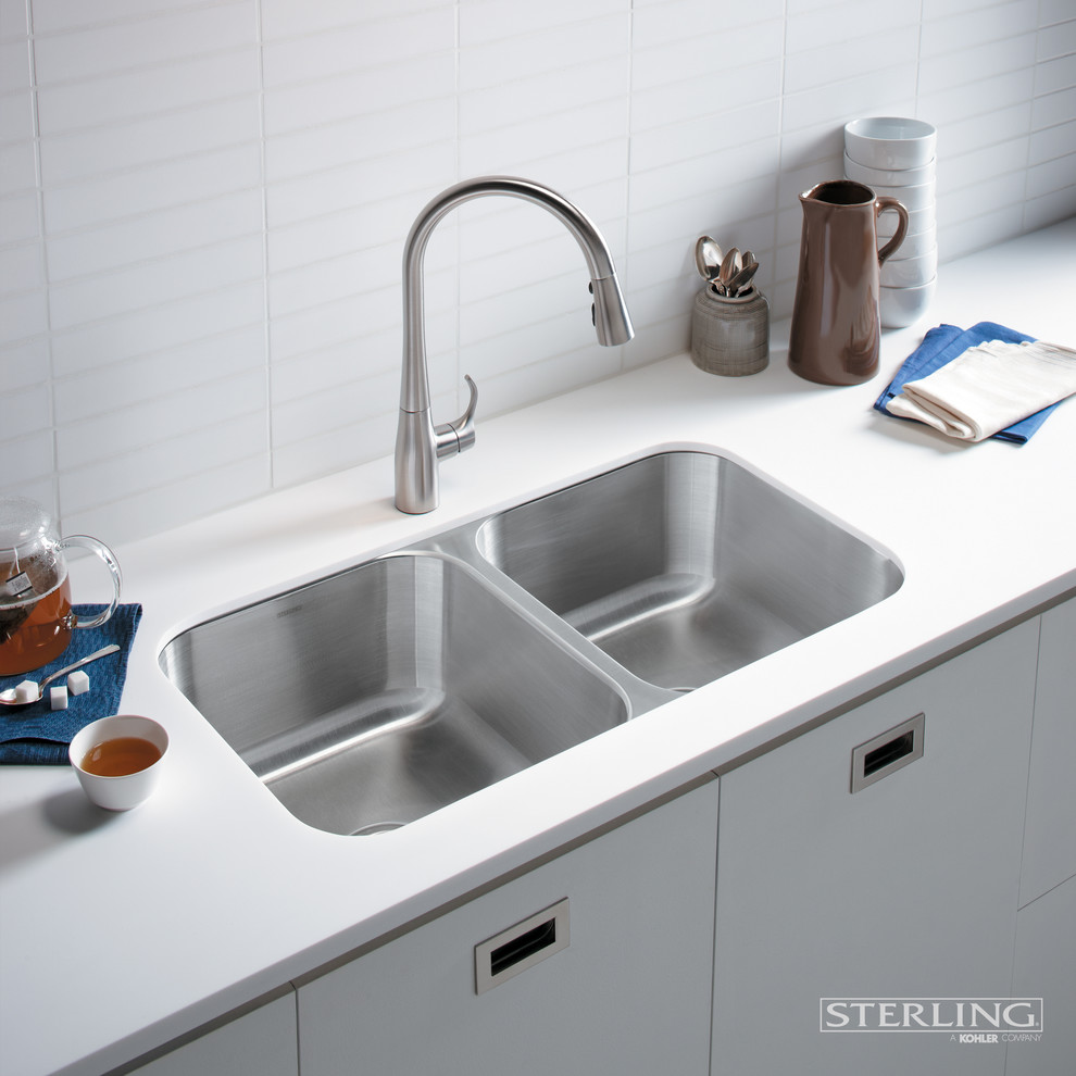 Kraus Faucets Kraus Kpf1650ss Nola Single Lever Commercial Style Kitchen Faucet In Stainless