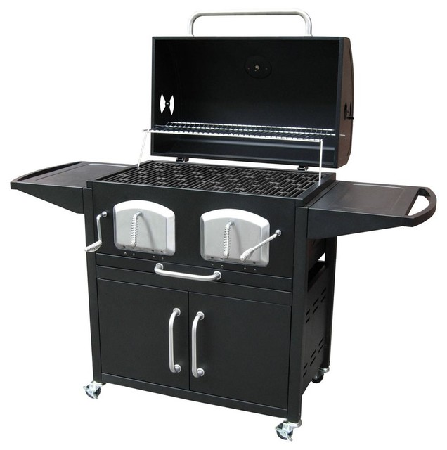 Large Charcoal Grillswith 3