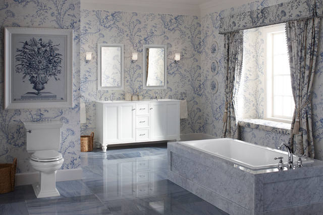 Led Wall Sconce Bathroom Traditional with Blue Marble Calm Blue Bathroom Custom Made Damask Double Sink