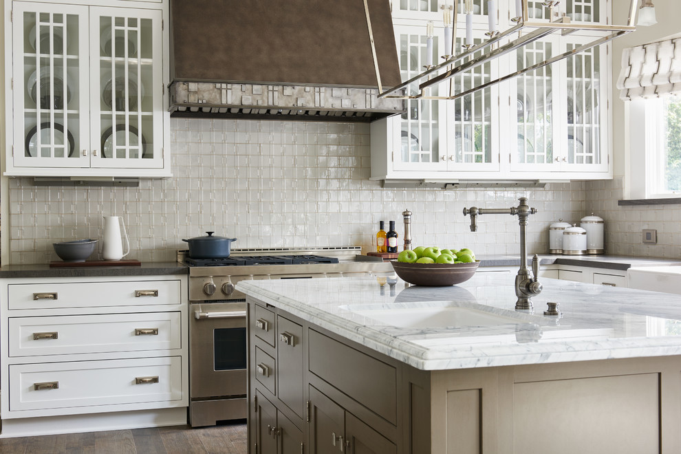 Lenova Sinks Kitchen Transitional with Casual Elegance Neutral Sink in Island Vent
