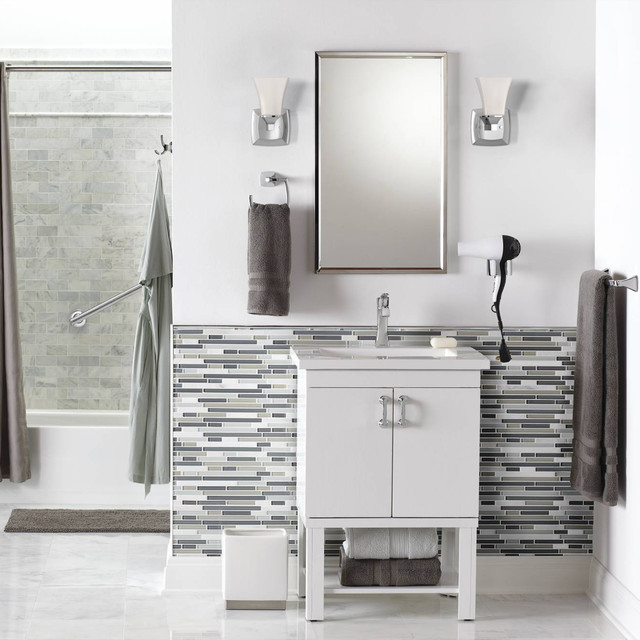 Lg Steam Washer And Dryer Bathroom Contemporarywith  Categorybathroomstylecontemporary
