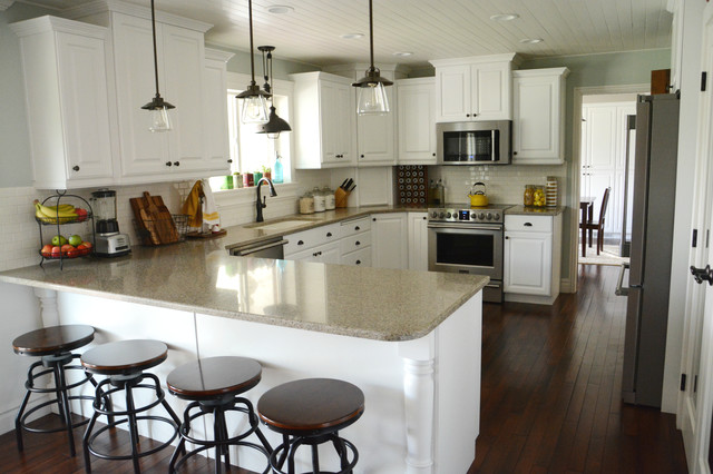 Light Bulb Cage Kitchen Traditional with Categorykitchenstyletraditionallocationcharlotte