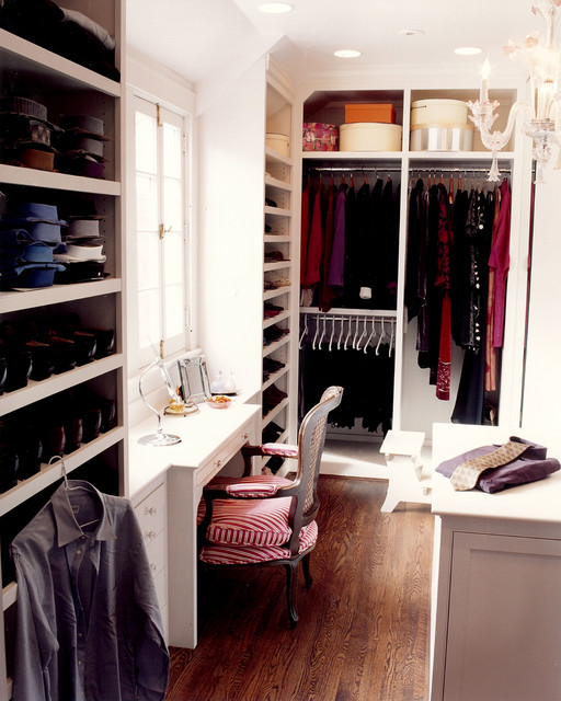 Lighted Vanity Table Closet Traditional with Boudoir Built in Storage Ceiling Lighting Dressing Table Hanging