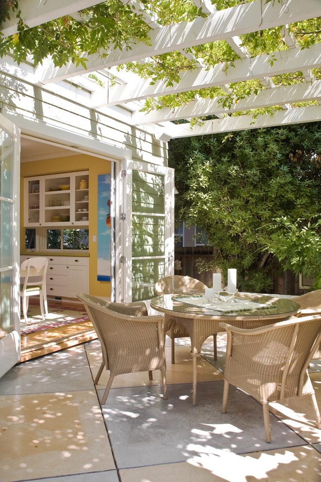 Lloyd Flanders Patio Traditional With Arbor  Climbing Plants French Doors Glass Doors