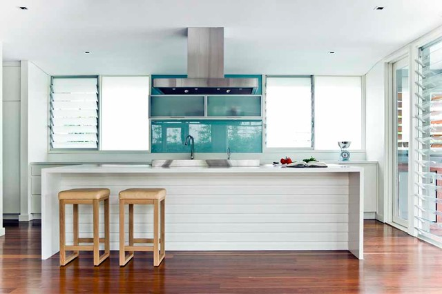 Louvered Windows Kitchen Beach with Bright Counter Stools Louvers Recessed Lighting White Kitchen Windows1