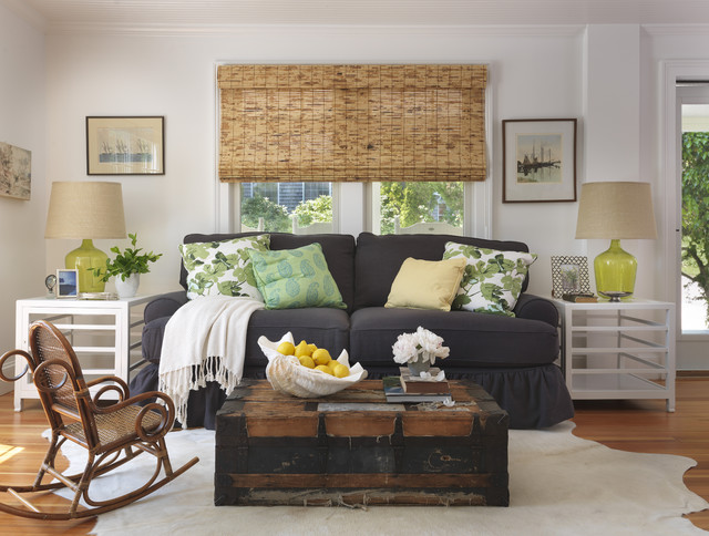 Lowes Blinds Sale Living Room Beach with Antique Trunk Beach Cottage Beach Living Room Bentwood Rocker