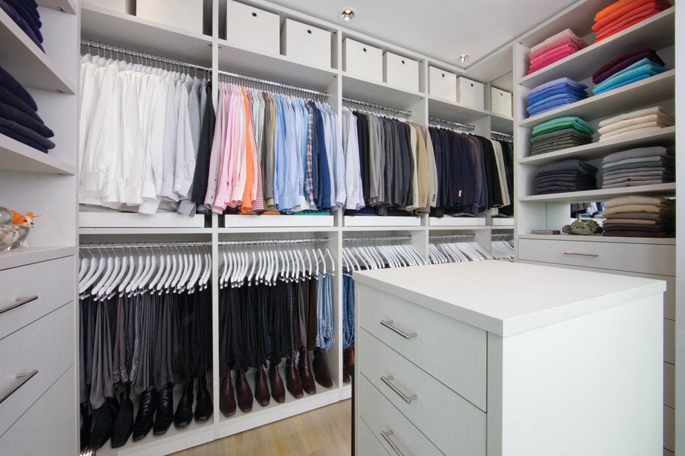 lowes closet systems Closet Contemporary with built in storage ceiling lighting hanging clothes