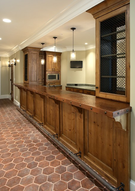 Lowes Counter Tops Kitchen Rustic with Alder Cabinets Bar Bar Foot Rail Baseboards Basement Bar