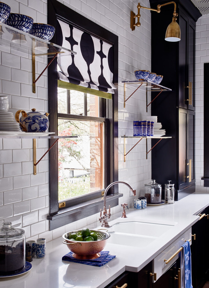 lowes-subway-tile-Bathroom-Transitional-with-beadboard ...