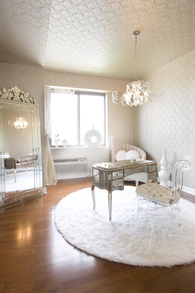 Lucite Chairs Home Office Traditional with Dressing Table Feminine Ghost Chair Mirrored Furniture