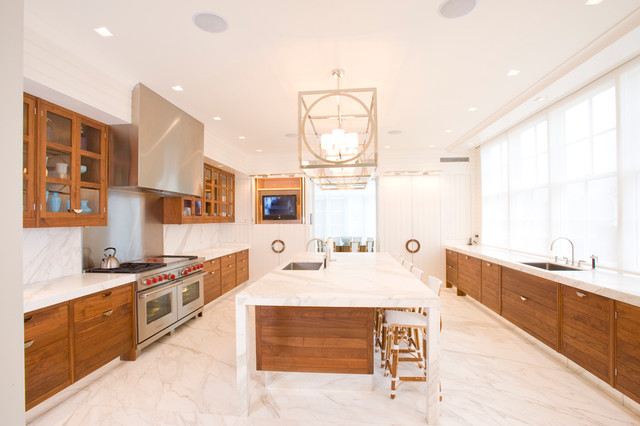 Lutron Shades Kitchen Contemporary with Bistro Barstools Breakfast Bar Ceiling Lighting Eat in Kitchen