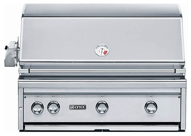 Lynx Grillsold Byhayneedle Outdoor Grills Contemporarywith Sold Byhayneedlecategoryoutdoor Grillsstylecontemporary 36 in Built in Grill with Rotisserie L36r 1 Lp Contemporary Outdoor Grills