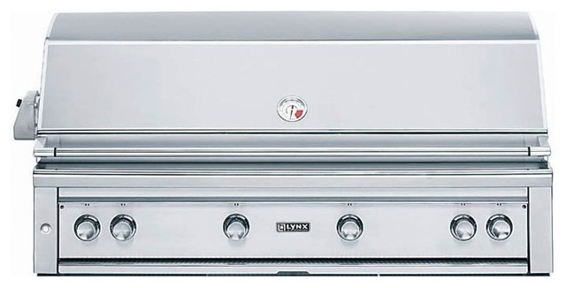 Lynx Grillsold Byhayneedle Outdoor Grills Contemporarywith Sold Byhayneedlecategoryoutdoor Grillsstylecontemporary 54 in Built in Grill with Rotisserie L54psr 2 Lp Contemporary Outdoor Grills