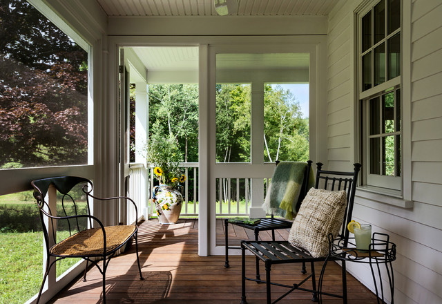 Mahogany Decking Porch Farmhouse with Country House Country Side Entry Farm Farmhouse Front Yard