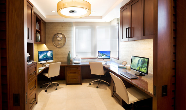 Mainstays L Shaped Desk with Hutch Home Office Contemporary with Beach Living Beige Floor Beige Grasscloth Contemporary Home Corner