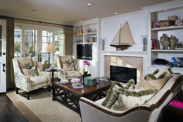 Marge Carson Furniture Living Room Beach with Area Rug Beach Beadboard Backed Bookcases Built in Bookcases Couch