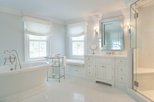 Meditation Bench Bathroom Traditional with Bathroom Built Ins Corner Shower Corner Shower Bench Crown Molding