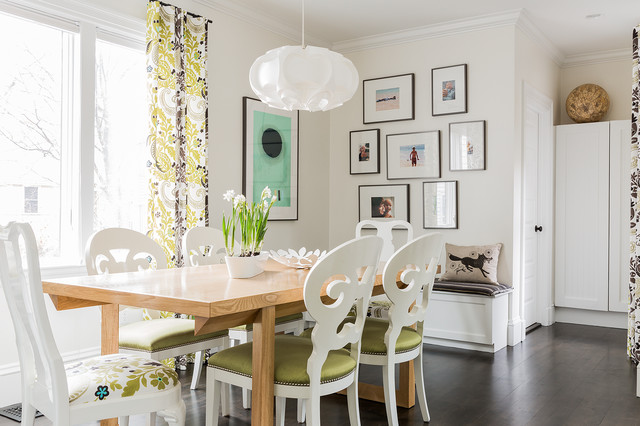 Memory Foam Kitchen Mat Dining Room Contemporary with Cambridge Chairs with Nailheads Custom Dining Table Dark Floors