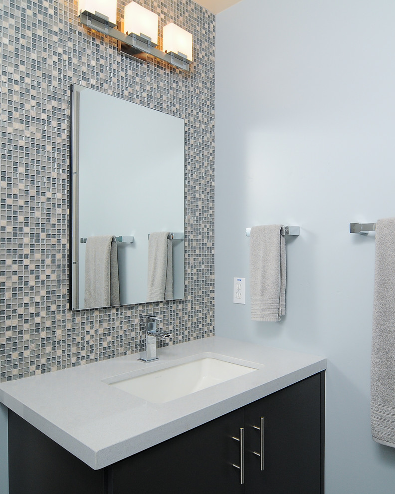 Merola Tile Bathroom Contemporary with All American All American Design and Furnishings