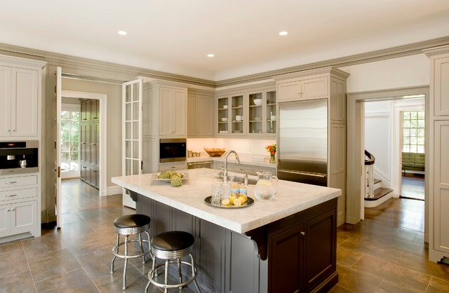 Metal Corbels Kitchen Traditional with Built in Coffee Built in Microwave Corbels Crown Molding Eat in Kitchen