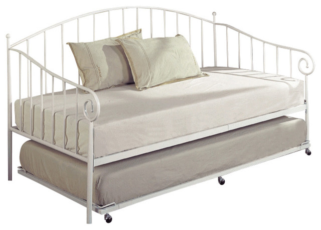 Metal Daybed with Trundlewith 4