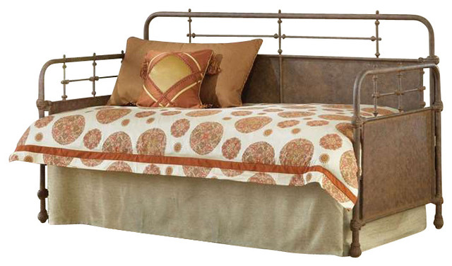 Metal Daybed with Trundlewith 5