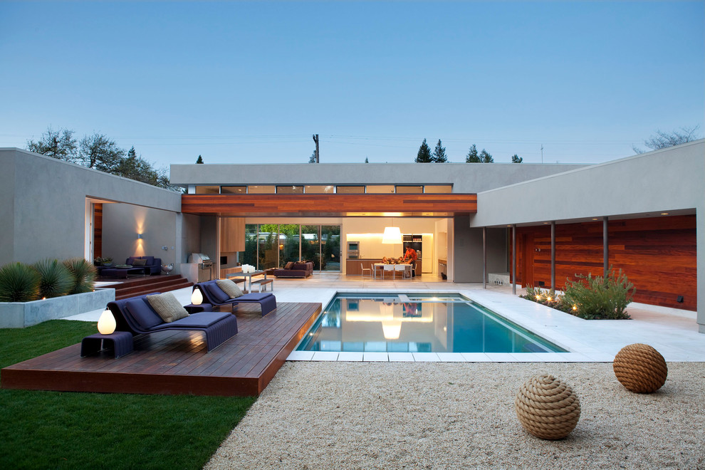 Mid Century Rocking Chair Pool Contemporary with Beautiful Pools Clerestory Windows Desert Landscape Indoor Outdoor