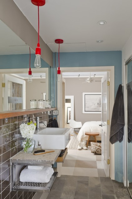 Minka Lighting Bathroom Modern with Accent Wall Bedroom Ceiling Fan Chair Eclectic Farmhouse Sink