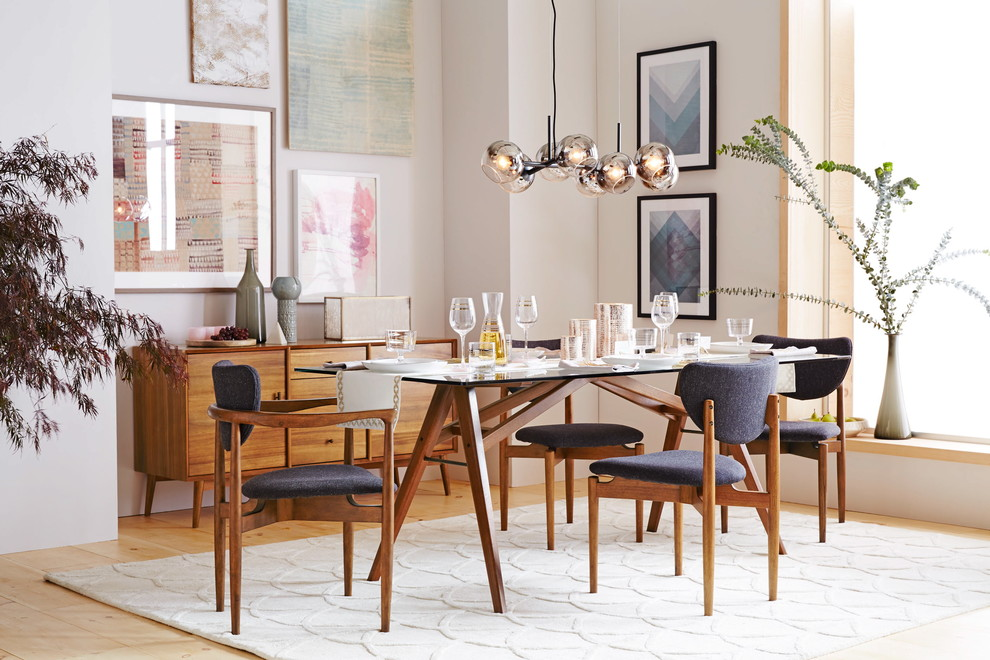 Mirrored Buffet Dining Room Contemporary with Categorydining Roomstylecontemporarylocationnew York 2