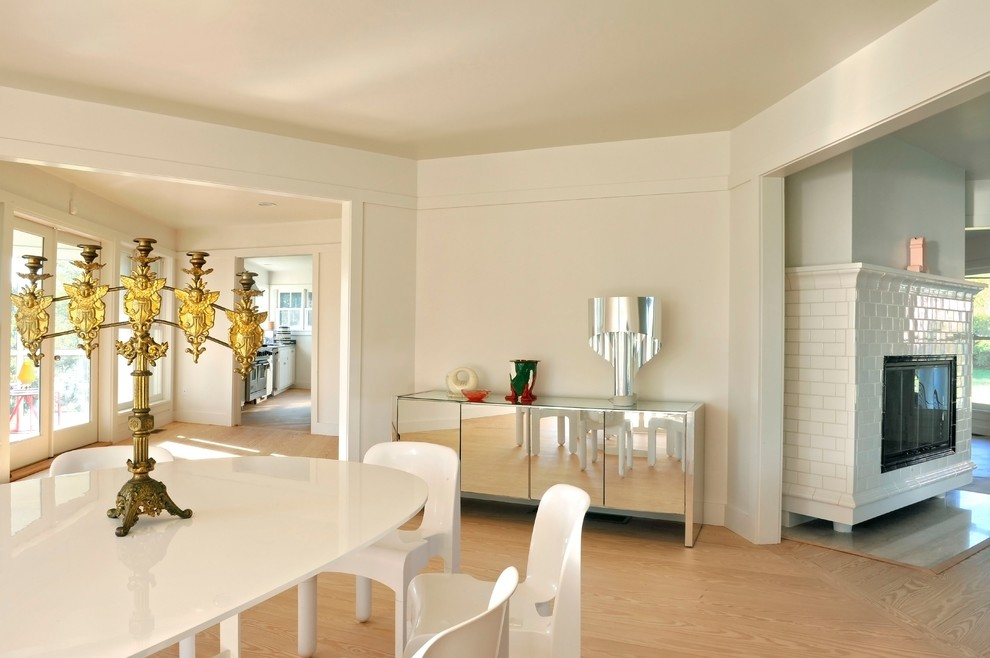 Mirrored Credenza Dining Room Contemporary with Candelabra Clean Gold Mirrored Buffet Natural Wood