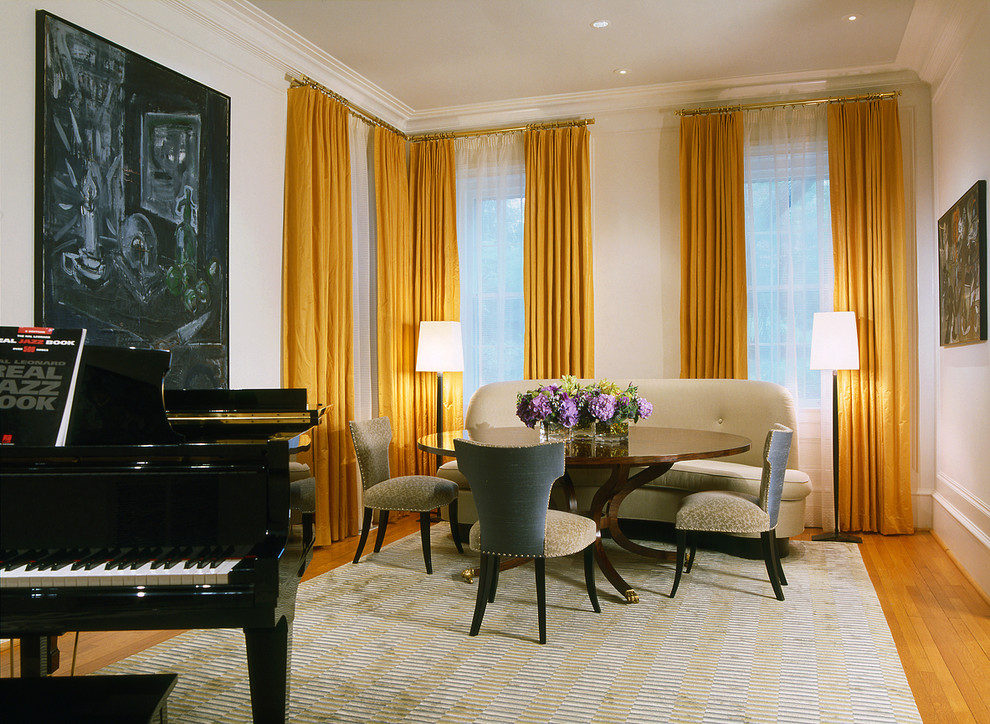 Modern Curtain Rods Living Room Contemporary with Dcmiami Floridamoderntraditionaltran Washington