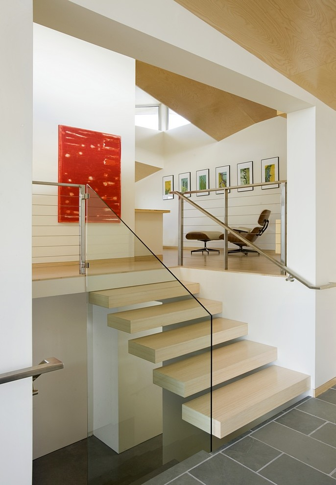 Modern Stair Railing Staircase Modern with Categorystaircasestylemodernlocationboston 1