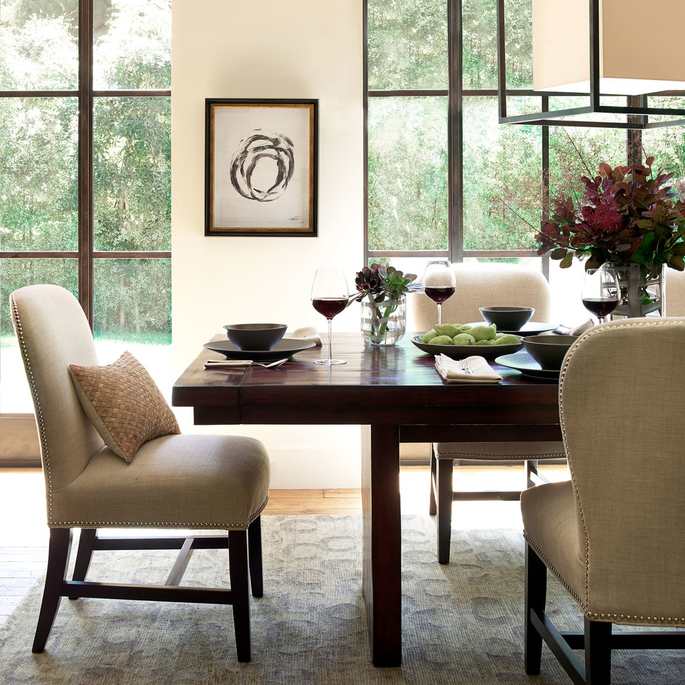 Modern Wingback Chair Dining Room with Categorydining Roomlocationsan Francisco