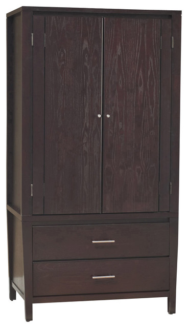 Modus Furniture with Armoire Bedroom Armoire Bedroom Storage Chest Chest of Drawers
