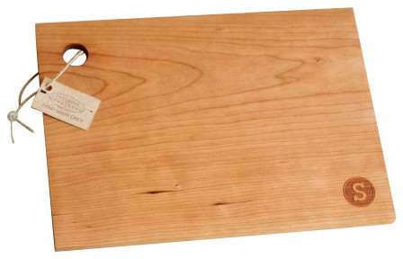 Monogrammed Cutting Boardwith 9