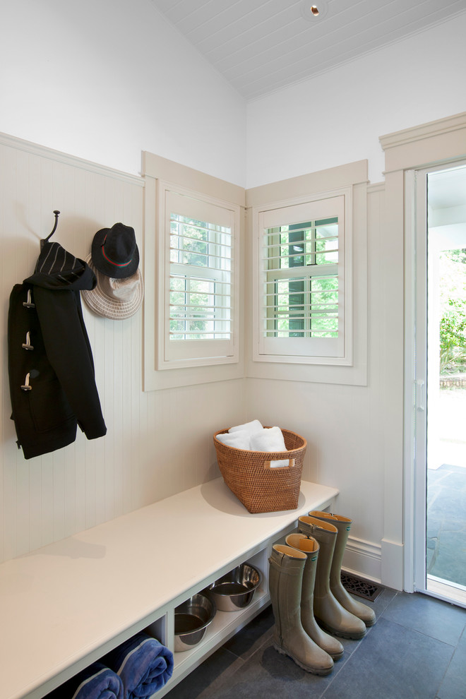 Mud Room Bench Entry Traditional with Bc Beadboard Bench Bench Seating Canada Custom