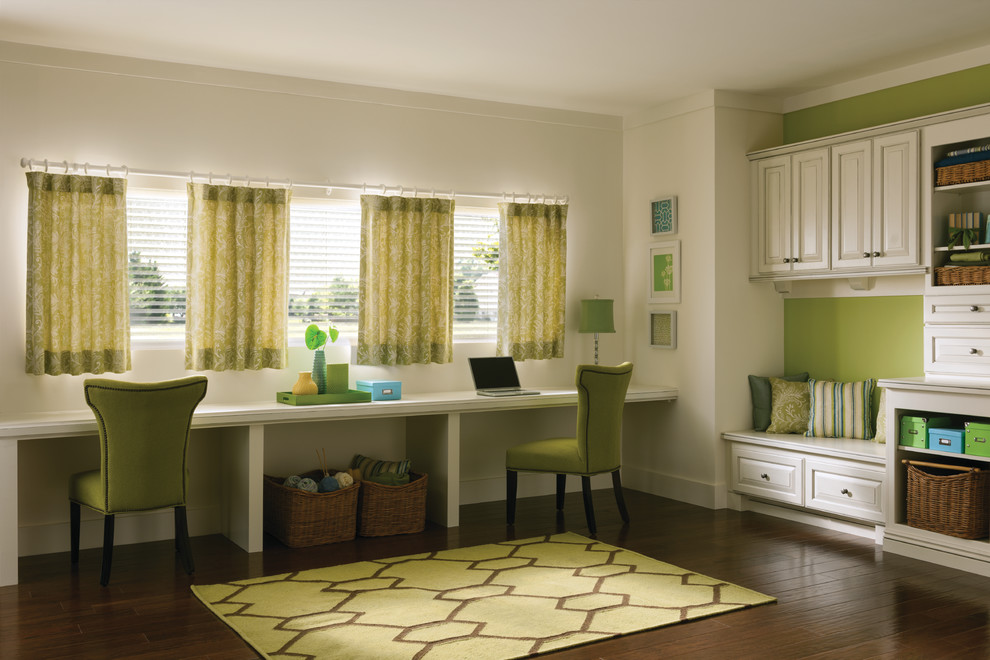 Mud Room Bench Living Traditional With Area Rug Built In Curtains Custom Drapery And