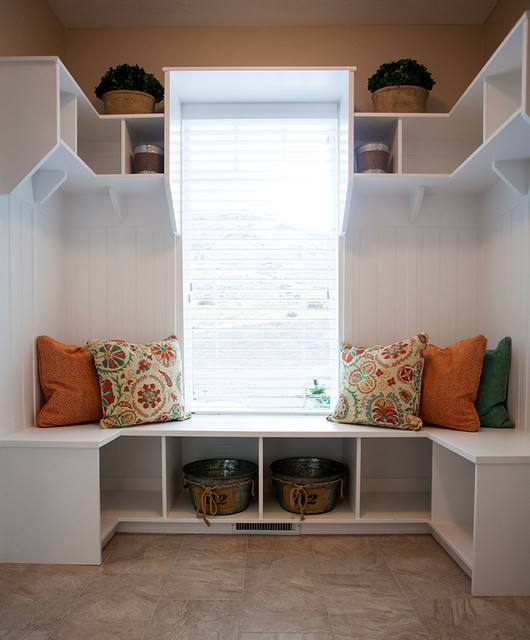 Mudroom Storage Bench Entry Traditional with Architect Architectural Details Architecture Craftsman House Design Plans House