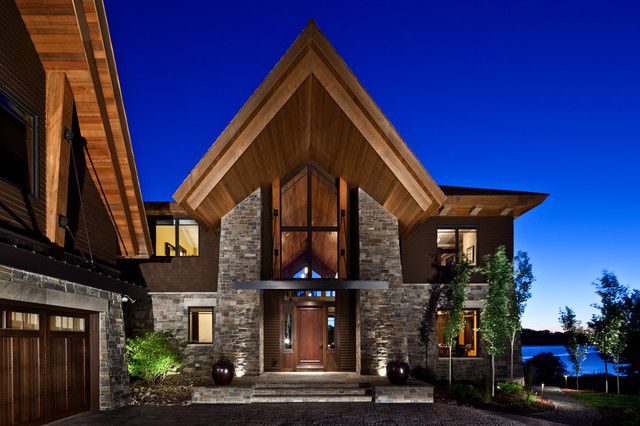 Mueller roofing exterior modern with covered entry eaves for Church exterior design ideas