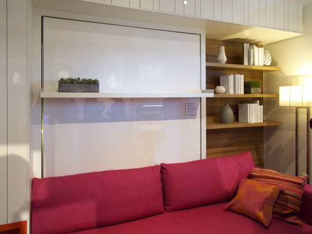 Murphy Bed Couch Living Room Modern with Categoryliving Roomstylemodernlocationnew York