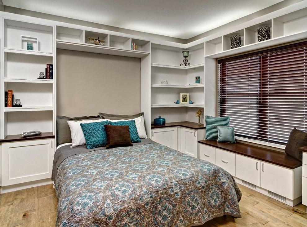 Murphy Beds for Sale Bedroom Contemporary with Bedroom Built Ins Beige Wall Blinds Blue Patterned