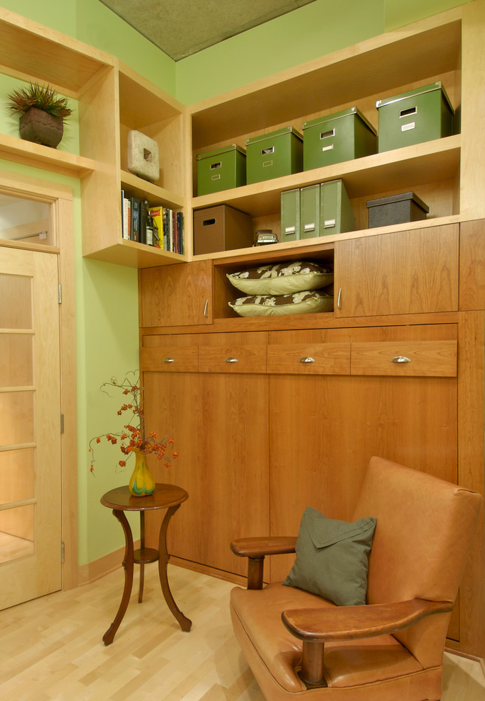 Murphy Beds for Sale Home Office Contemporary with Accent Table Built in Book Shelves Flush