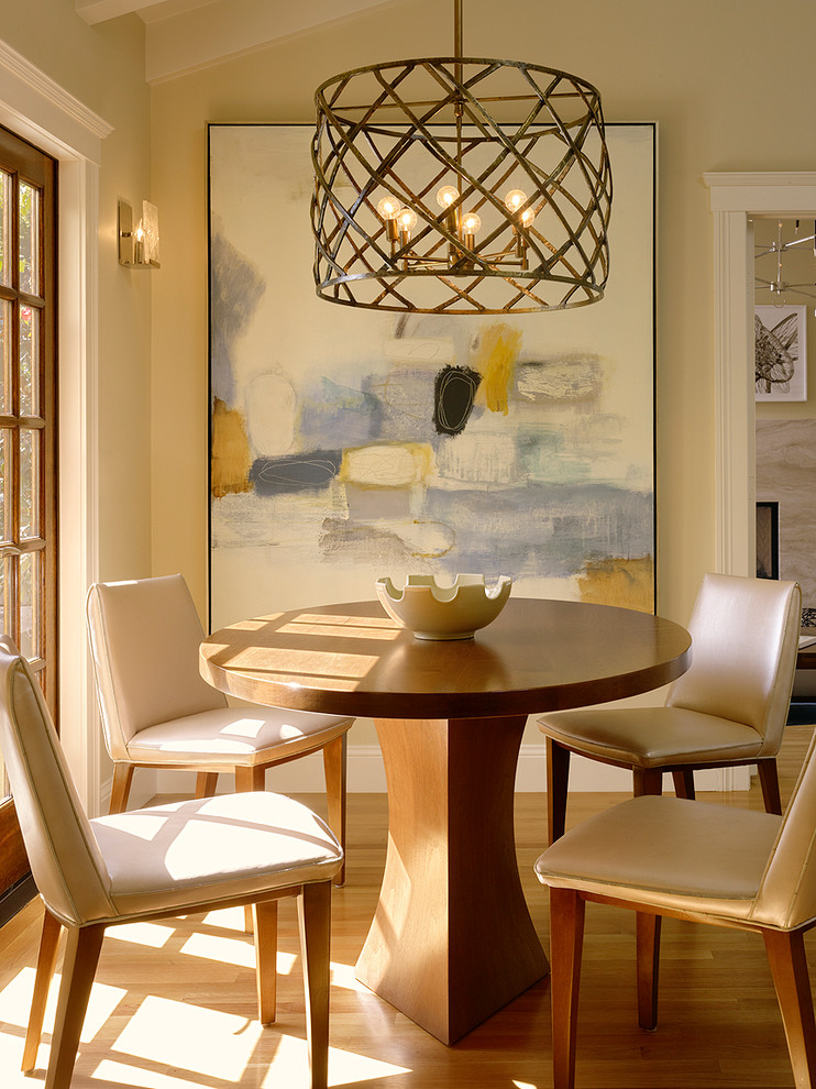 Nautical Light Fixtures Dining Room Transitional with Art Breakfast Room Chairs Chandelier Contemporary Custom