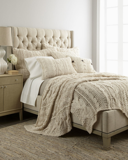 Neiman Marcus Beddingsold Byneiman Marcusvisit Store Bedding Traditionalwith Sold Byneiman Marcusvisit Storecategorybeddingstyletraditional Home Micah Cable Knit Bed Linens Traditional Bedding