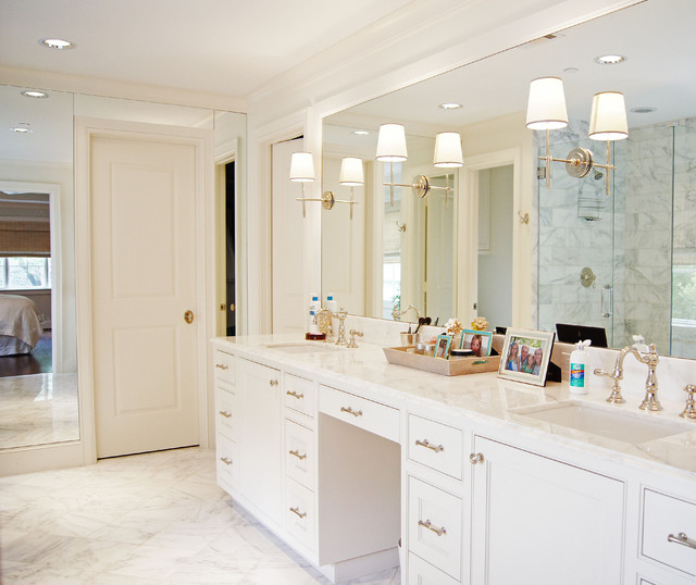 Newport Brass Faucets Bathroom Traditional with His and Her Sinks Jack and Jill Sinks Large1